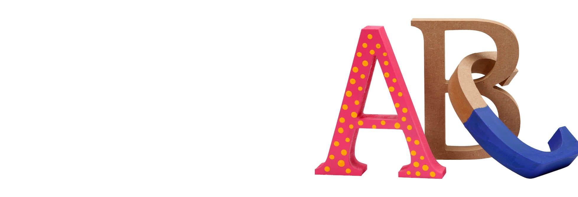 Letras, números y palabras
