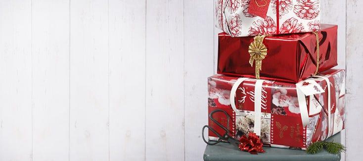 Regalos de Navidad, regalos para calendarios de adviento y envolver