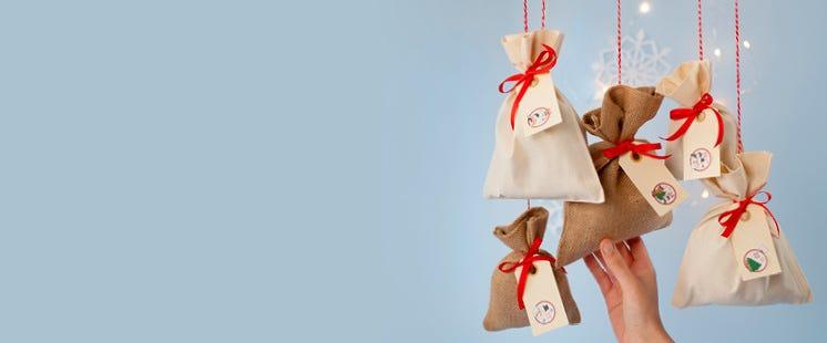 Envoltorios para los regalos del calendario de adviento
