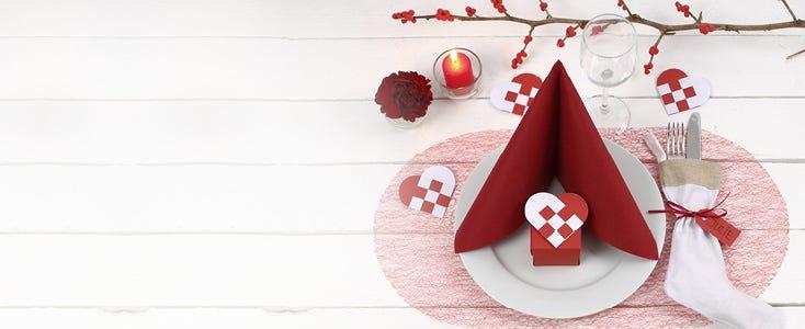 Decoraciones de mesa navideñas