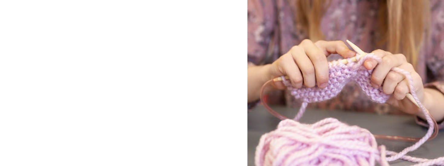 Coser y tejer para niños