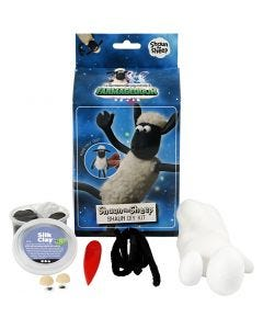 La Oveja Shaun, negro, blanco, 1 set