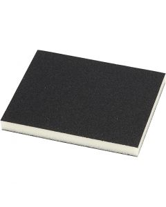 Esponja de lijar, medidas 9,5x12 cm, 4 ud/ 1 paquete