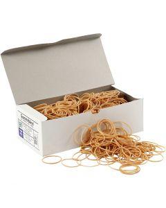 Gomas elásticas, dia: 5-8 cm, grosor 1 mm, 500 gr/ 1 paquete