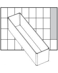 Caja interior de almacenaje, medida A9-3, A: 47 mm, medidas 163x39 mm, 1 ud