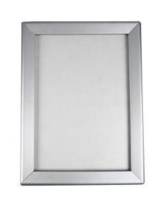 Marco de aluminio, A4, 210x297 mm, 1 ud