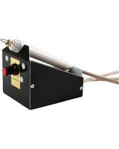 Kit de pirograbado, 400-450 °C, 1V - 25W, 1 ud