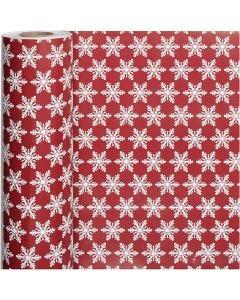 Papel de regalo, ice crystals, A: 50 cm, 80 gr, 100 m/ 1 rollo