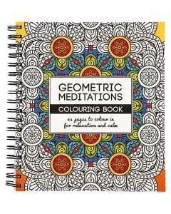 Libro para colorear, geométrico, medidas 19,5x23 cm, 64 , 1 ud