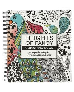 Libro para colorear, Flights of Fancy , medidas 19,5x23 cm, 64 , 1 ud