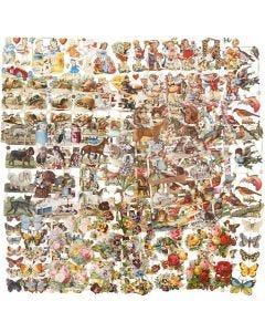 Cromos Vintage, Todo el año, 16,5x23,5 cm, 30 hojas stdas/ 1 paquete