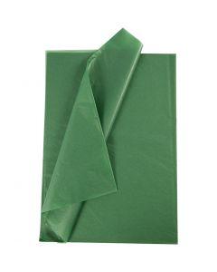 Papel de seda, 14 gr, verde, 10 hoja/ 1 paquete
