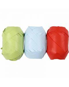 Cinta de plástico mate, 3x10 m/ 1 paquete