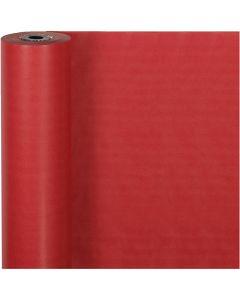 Papel de regalo, A: 50 cm, 60 gr, rojo, 100 m/ 1 rollo