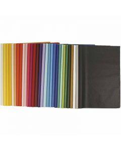 Papel de seda, 50x70 cm, 14 gr, 300 hoja/ 1 paquete
