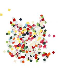 Cartulinas para mosaicos, cuadrado, medidas 10x10 mm, 180 gr/ 1 paquete