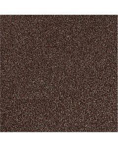 Glitter Film , A: 35 cm, grosor 110 my, marrón, 2 m/ 1 rollo