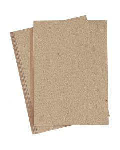 Papel, A4, 210x297 mm, 120 gr, natural, 20 ud/ 1 paquete