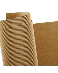 Cartulina corrugada, 50x70 cm, 120 gr, 10 hoja/ 1 paquete