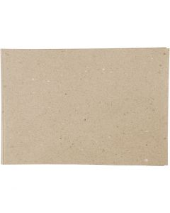 Papel Kraft, A2, 420x600 mm, 100 gr, noble, 500 hoja/ 1 paquete