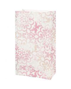Bolsas de papel, Acuarela, A: 21 cm, medidas 6x12 cm, 80 gr, 8 ud/ 1 paquete