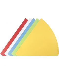 Conos, A: 68 cm, dia: 20 cm, surtido de colores, 5 ud/ 1 paquete