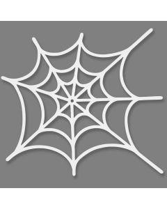Tela de araña, medidas 19x21 cm, 230 gr, blanco, 16 ud/ 1 paquete