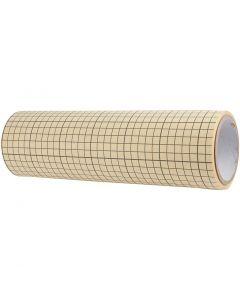 Plástico adhesivo de doble cara, A: 32 cm, 5 m/ 1 rollo