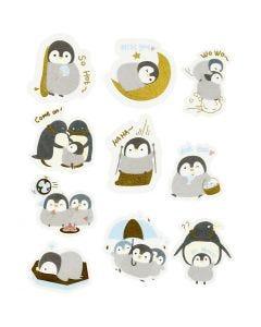 Cinta adhesiva, pingüinos, medidas 40-53 mm, 30 ud/ 1 paquete