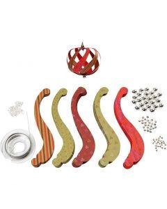 Kit de tiras con fijación, medidas 12x1,5 cm, 180 gr, 12 ud/ 1 paquete