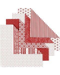 Papel Origami, medidas 15x15 cm, 80 gr, 50 hojas stdas/ 1 paquete