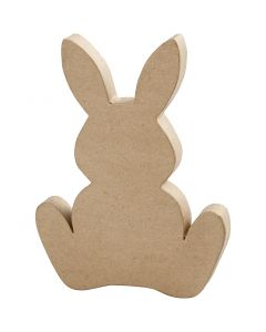 Conejo, A: 25 cm, profundidad 2,5 cm, 1 ud