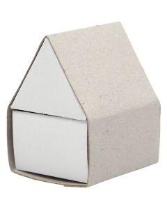 Caja de cerillas, medidas 5,5x4,8x6,5 cm, 10 ud/ 1 paquete