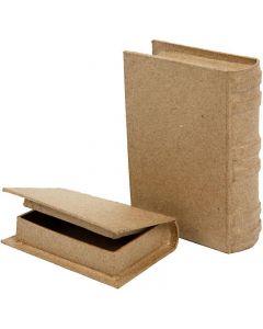 Libros, medidas 8x11,5x2,5 cm, 2 ud/ 1 set