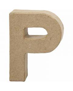 Letra, P, A: 10 cm, A: 7,7 cm, grosor 1,7 cm, 1 ud
