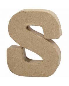 Letra, S, A: 10 cm, A: 8 cm, grosor 1,7 cm, 1 ud