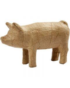 Cerdo, A: 8 cm, L. 14 cm, 1 ud