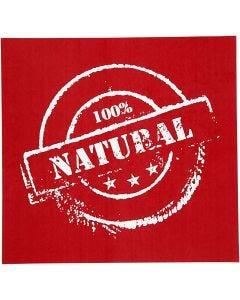 Plantilla Adhesiva, Natural, 20x22 cm, 1 Hoja