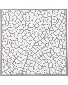Plantilla, Hoja, 30,5x30,5 cm, 0,31 mm, 1 Hoja