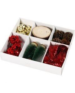 Decoración para regalos, Antiquado, 6 stdas/ 1 paquete