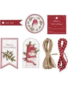 Etiquetas de regalo, 250 gr, 1 set