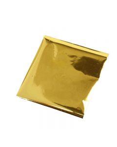 Art & Craft Foil, 10x10 cm, dorado, 30 hoja/ 1 paquete