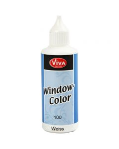 Window Color, blanco, 80 ml/ 1 botella
