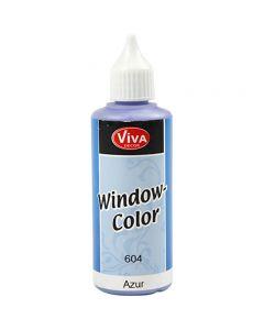 Window Color, azure, 80 ml/ 1 botella