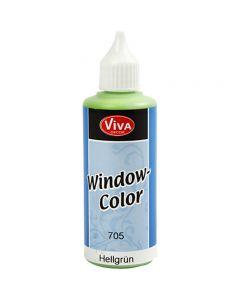 Window Color, verde claro, 80 ml/ 1 botella