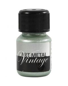 Pintura Art Metal, verde perlado, 30 ml/ 1 botella