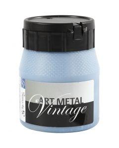 Pintura Art Metal, azul perlado, 250 ml/ 1 botella