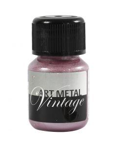 Pintura Art Metal, rojo perladoå, 30 ml/ 1 botella
