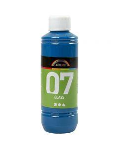 Pintura A-Color Glass, turquesa, 250 ml/ 1 botella