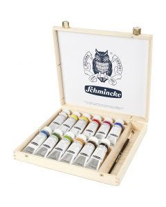 Pintura Schmincke AKADEMIE Acryl , 12x60 ml/ 1 paquete